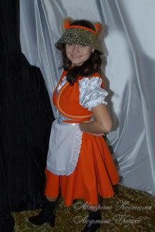 костюм лисы фото в шляпке с ушками