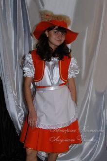 костюм лисы фото в широкополой шляпе