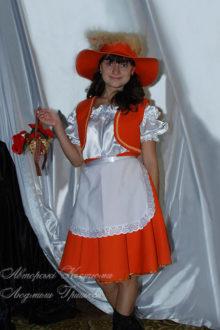 костюм лисы для взрослых фото с корзинкой
