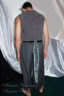 костюм волка взрослый фото вид со спины
