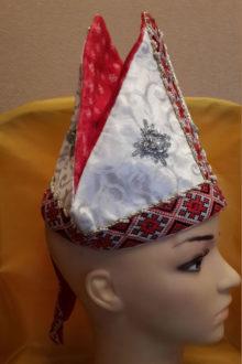 аксессуары для костюма Св.Николая фото митры сбоку