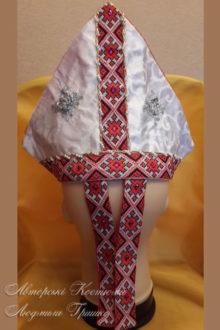 аксессуары для костюма Св.Николая фото митры сзади