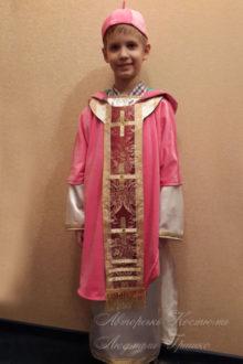 фото костюм Святого Николая на рождество