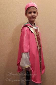 фото костюм Святого Николая для мальчика