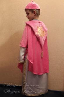 костюм Святого Николая фото вид со спины