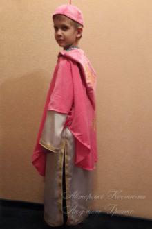 фото авторский костюм Святого Николая для мальчика