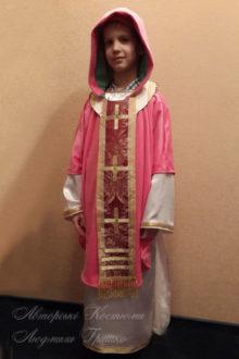 фото детский костюм Святого Николая