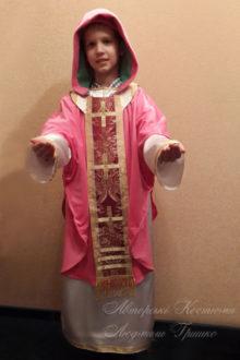 фото костюм Святого Николая для ребенка на новый год