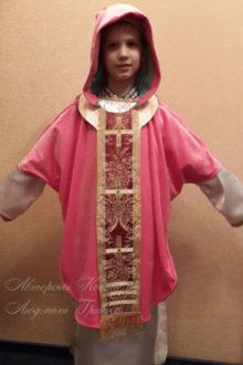 костюм Святого Николая фото карнавального наряда