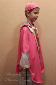 костюм Святого Николая фото вид сбоку
