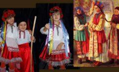 украинский костюм история национального наряда фото