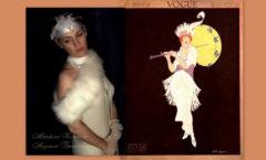 фото белое платье в стиле 20-х