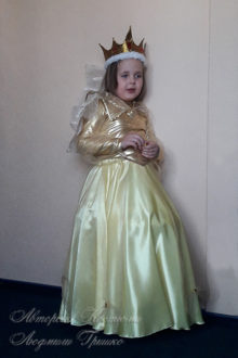 фото костюм королевы клэрион для девочки