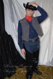 мужской костюм ковбоя фото 0495
