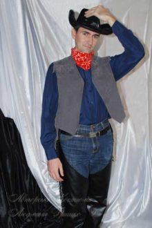 костюм ковбоя в шляпе фото 465