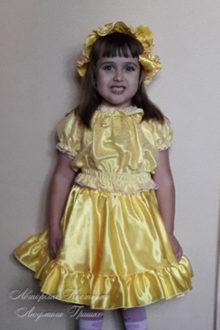 фото авторский карнавальный костюм теста