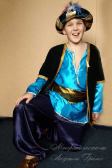 авторский костюм шейха фото 1015