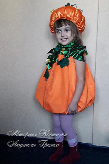 наряд на хэллоуин - костюм тыквы фото 2035