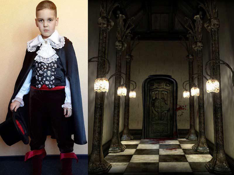 карнавальный костюм для мальчика Дракула
