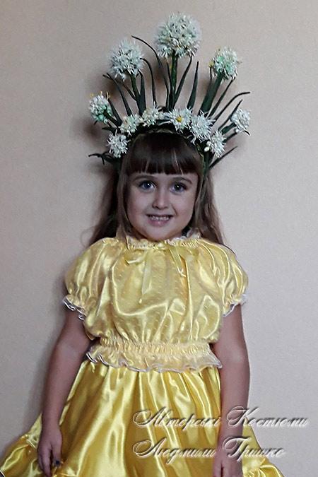 авторский карнавальный костюм ручной работы - Луковица