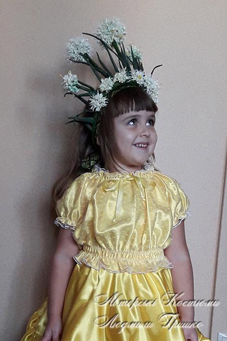 костюм Луковицы для девочки фото 5048