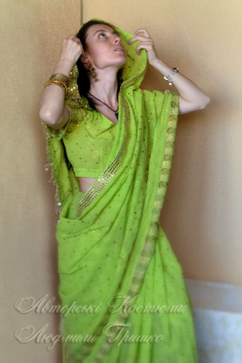 женский индийский национальный наряд