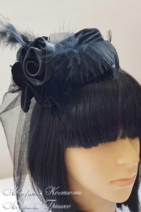 черная шляпка на halloween