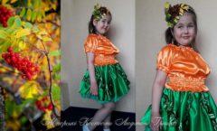 костюм рябинки на праздник осени