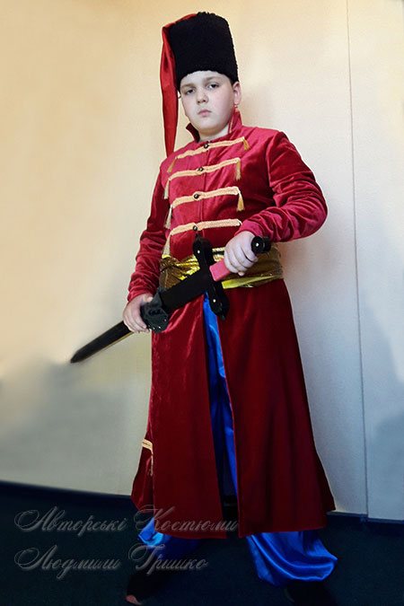 фото костюма стрельца - козака