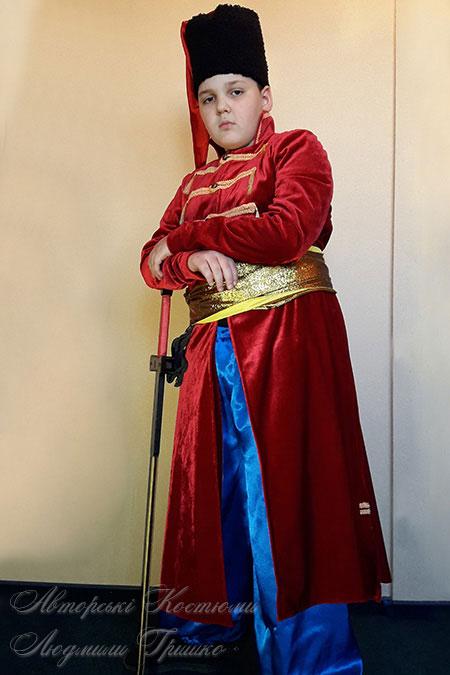 костюм стрельца - фото карнавального наряда