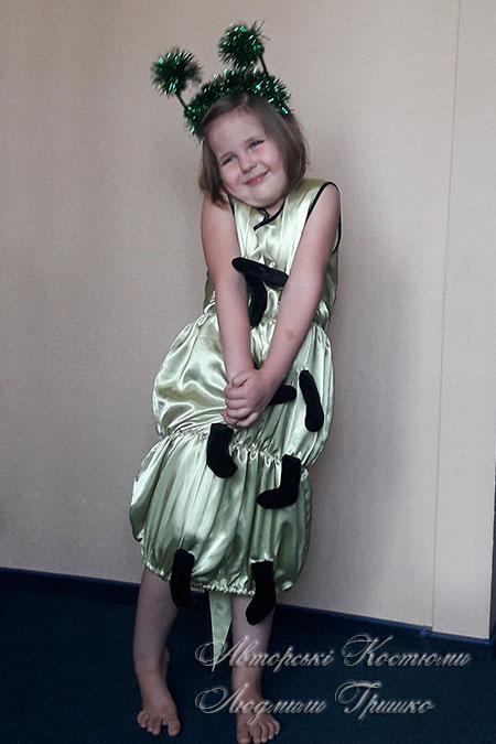 костюм сороконожка для девочки