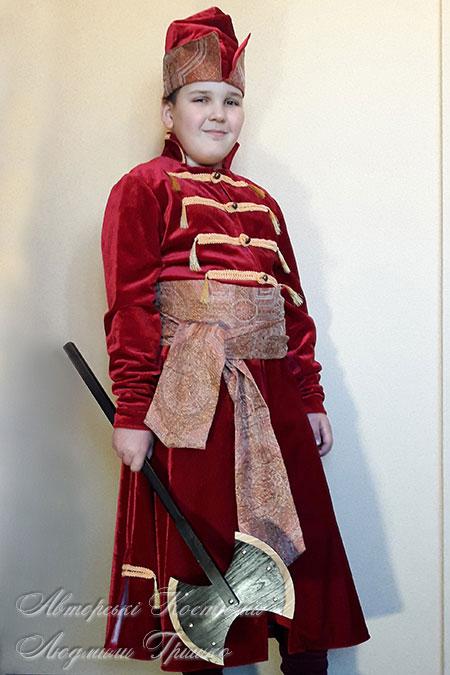 костюм царского стрельца