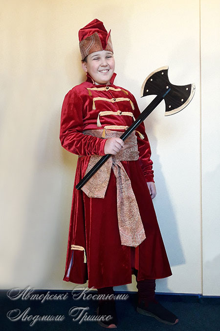 исторические костюмы - царский стрелец