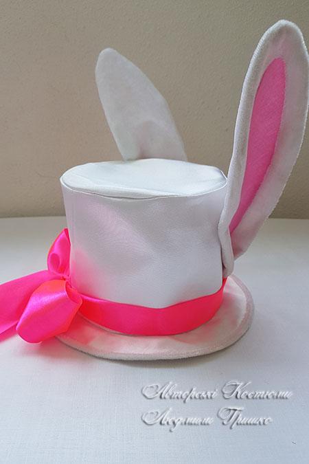 карнавальный аксессуар цилиндр кролика