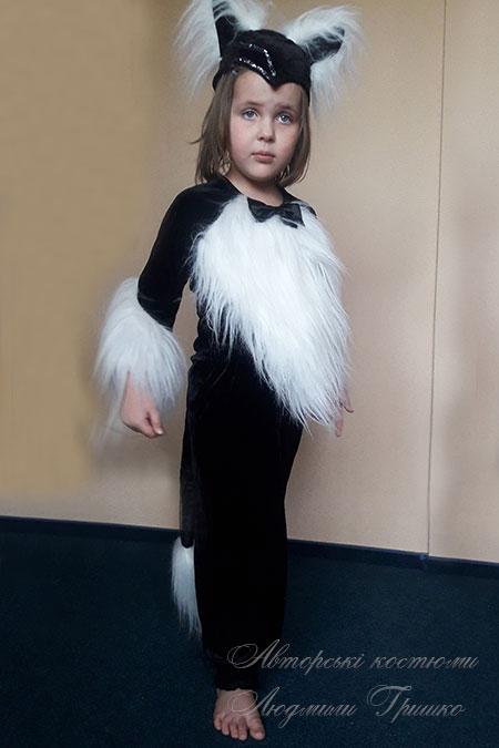 костюм кошки детский на хэллоуин