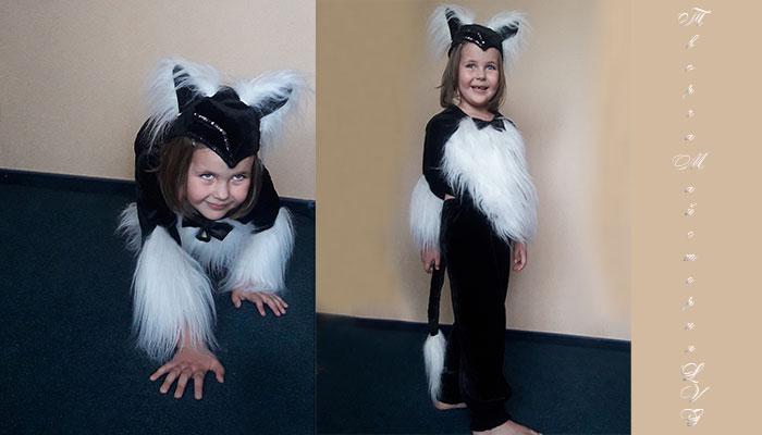 костюм кошки детский карнавальный наряд