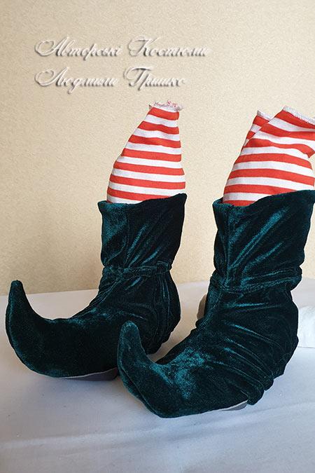 детская карнавальная обувь - новогодние аксессуары