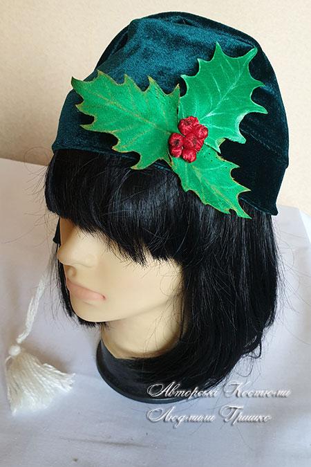 шапка рождественский гном
