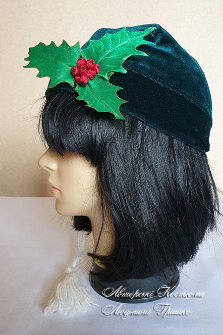 шапочка рождественский эльф