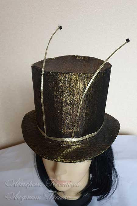 цилиндр шляпа таракана