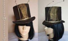 шляпа таракана с усами