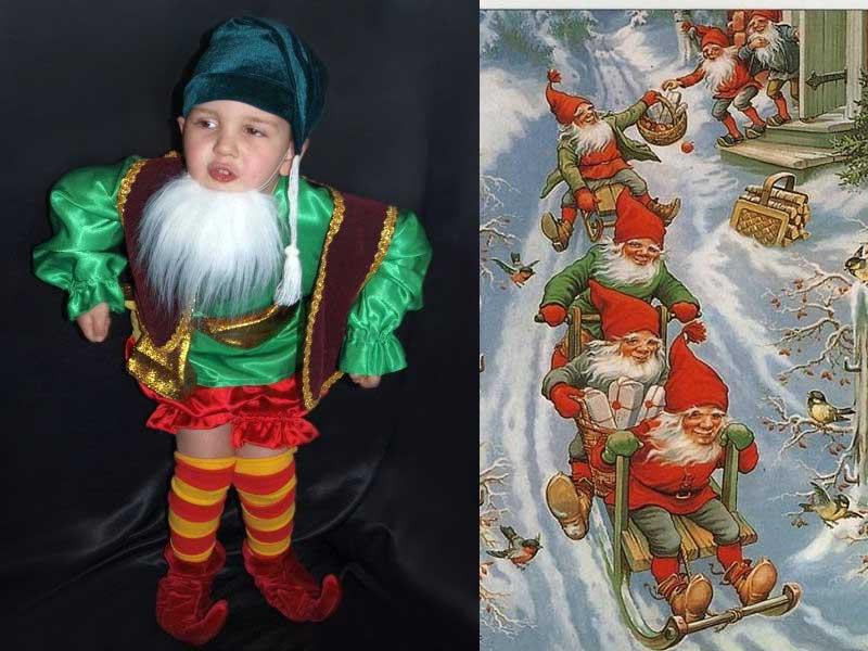 рождественский костюм детский
