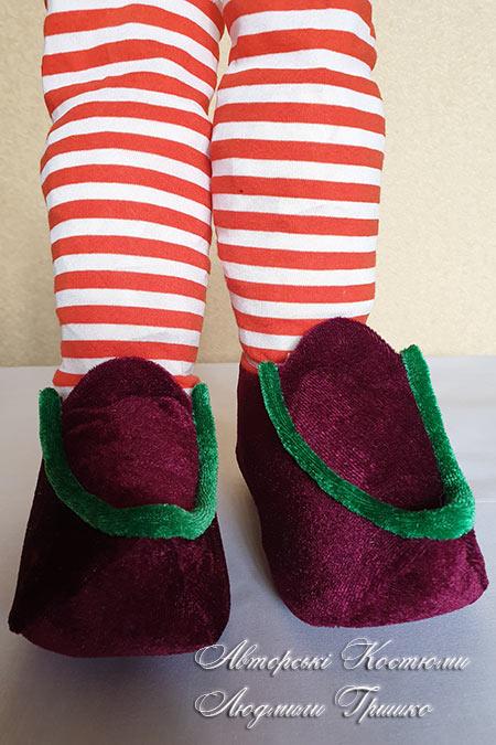 карнавальная обувь для детей 3-4 лет