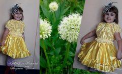 костюм луковицы с ободком для волос