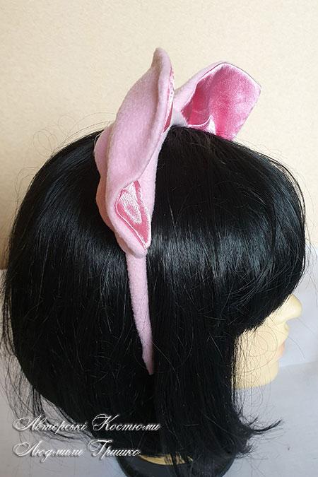 обруч для волос с ушами просенка